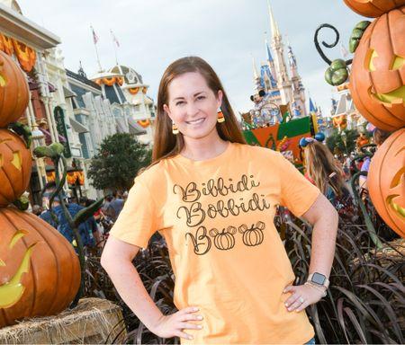 Bibbidi Bobbidi Boo..to you! 🎃 Disney Halloween, Candy Corn Earrings, Mickey Pumpkins, Baublebar Earrings, #founditonamazon  #LTKSeasonal #LTKunder50