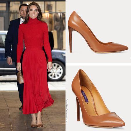 Kate wearing Ralph Lauren heels #shoes #amazon   #LTKeurope