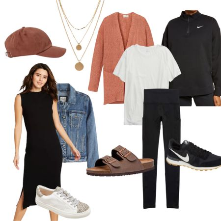 Back to school mom outfits - easy on the go early fall outfits   #LTKbacktoschool #LTKSeasonal #LTKfamily