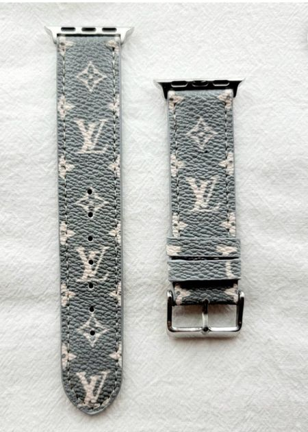 Here's a simple and chic designer inspired Apple Watch band! And it's under $36!  #LTKunder50 #LTKfit #LTKstyletip