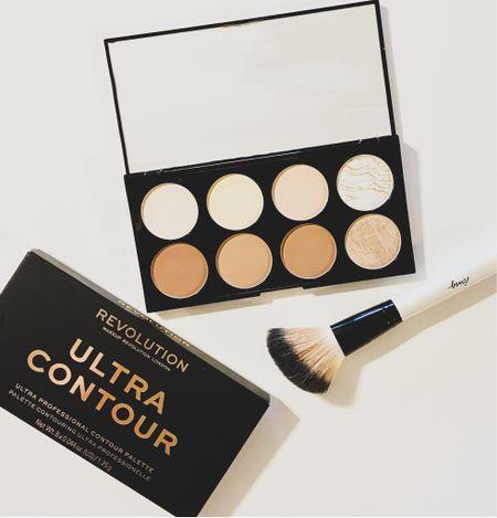 Makeup Revolution Ultra Contour Face Palette. Gorgeous contour and highlighter palette perfect for any skin tone. Even works for fair skin.   #LTKstyletip #LTKsalealert #LTKbeauty