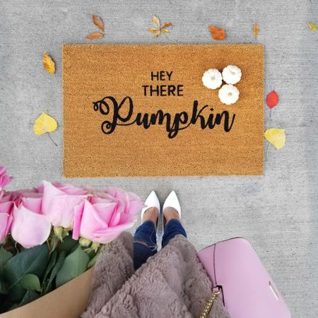 Soaking up all the fall vibes this week! These are my favourite fall doormats and my new favourite snuggly coat (I'm wearing a small). I've linked some of my fave white shoes too! http://liketk.it/2xpBQ #LTKstyletip #LTKfamily #LTKshoecrush #liketkit @liketoknow.it