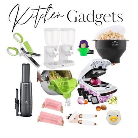 All kitchen gadgets are under $50!   My favorite is the angry looking lady - she's a steam cleaner for your microwave!   #LTKunder50 #LTKhome