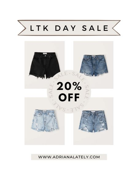 Abercrombie shorts, Abercrombie jeans, Summer shorts, mom shorts, shorts #liketkit http://liketk.it/3hjGW @liketoknow.it #LTKDay #LTKsalealert