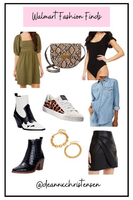 Walmart Fashion Finds 🖤 #walmartfinds #walmartstyle #fallstyle  #LTKstyletip #LTKunder50 #LTKshoecrush