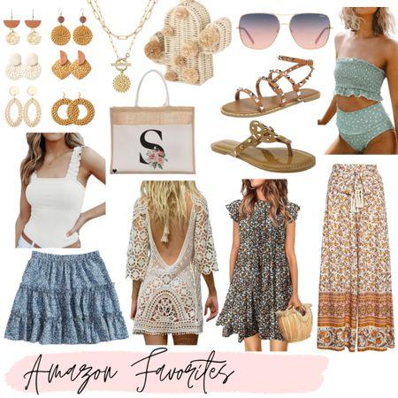 Amazon summer fashion, amazon fashion, amazon casual fashion, amazon accessories, amazon swimsuits and coverups, amazon tote bags, amazon vacation outfits   #amazon #amazonfashion #vacationoutfits #summerfashion #amazonfind #amazonfinds #beachvacation   #LTKunder100 #LTKSeasonal #LTKunder50