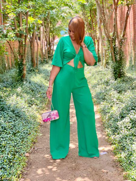 Go Green, Summer Fave Jumpsuit
