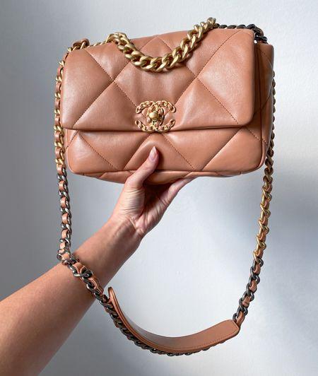 My dreamy Chanel 19 small in caramel. 🙌  #LTKstyletip #LTKSeasonal