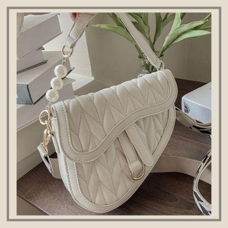 Two tone croc embossed chain bag from Shein   #LTKitbag #LTKunder50 #LTKstyletip