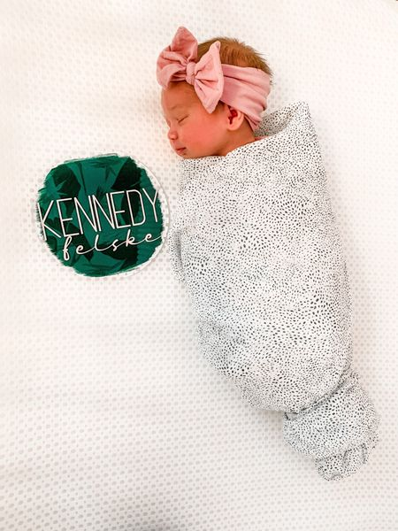 I found Kennedy's acrylic name sign on Etsy! I love how it reflects the wallpapered ceiling in the photos!   #LTKbaby