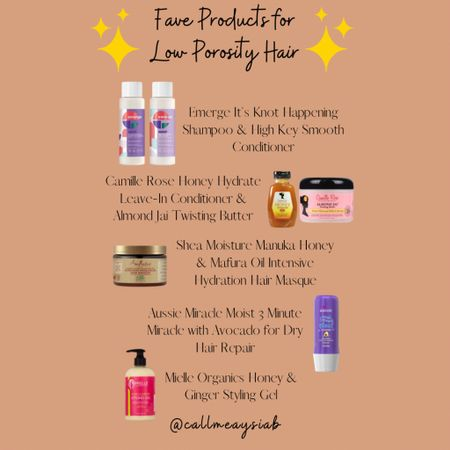 Here are my favorite products for low Porosity hair!   #StayHomeWithLTK #LTKbeauty #LTKstyletip