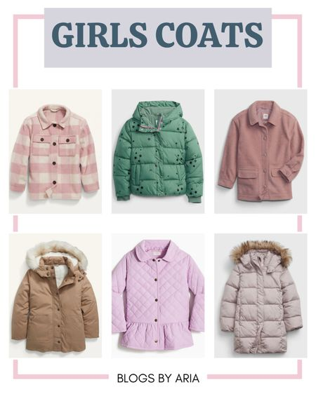 Girls coats for fall and winter. Now is the time to buy kids coats when sizes and stock are available!!   Kids clothes  Kids fashion  Kids jackets  Kids coats  #LTKsalealert   #LTKSeasonal #LTKkids #LTKfamily