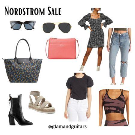 Nordstrom Sale picks. Holiday sale. Memorial Day sale. Sunglasses. Bags. Boots. Espadrille sandals. Summer dress. Sports bra. Straight leg denim. http://liketk.it/3gkZ0 #liketkit @liketoknow.it #LTKsalealert #LTKstyletip #LTKunder100