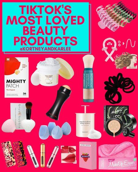 TikTok's Most Loved Beauty Products from Amazon!!!  Amazon beauty | amazon beauty favorites | amazon beauty finds | amazon beauty essentials | amazon beauty lover favorites | beauty amazon favorites | amazon beauty faves | amazon skincare | amazon beauty must haves | skincare favorites | amazon skincare favorites | amazon makeup | amazon makeup favorites | the best of amazon makeup | makeup must haves | amazon makeup must haves | Kortney and Karlee | #kortneyandkarlee @liketoknow.it #liketkit   #LTKunder50 #LTKunder100 #LTKsalealert #LTKhome #LTKstyletip #LTKSeasonal #LTKtravel #LTKbeauty