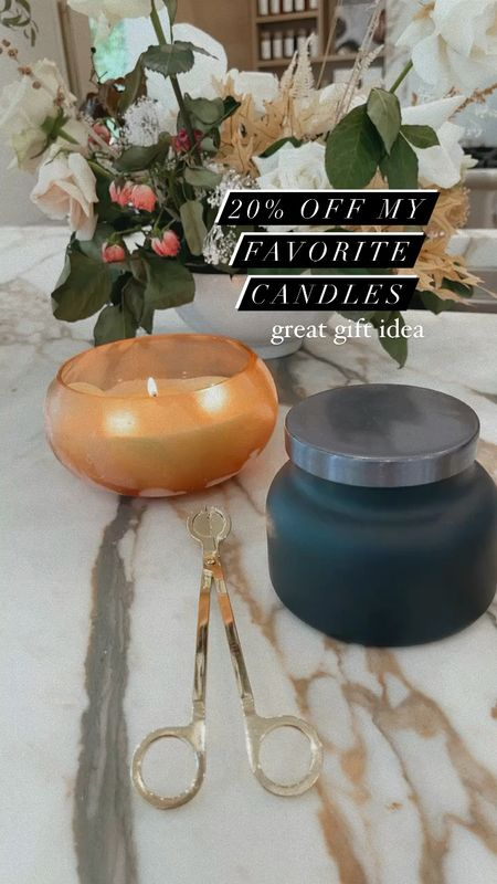 20% off candles and gifts