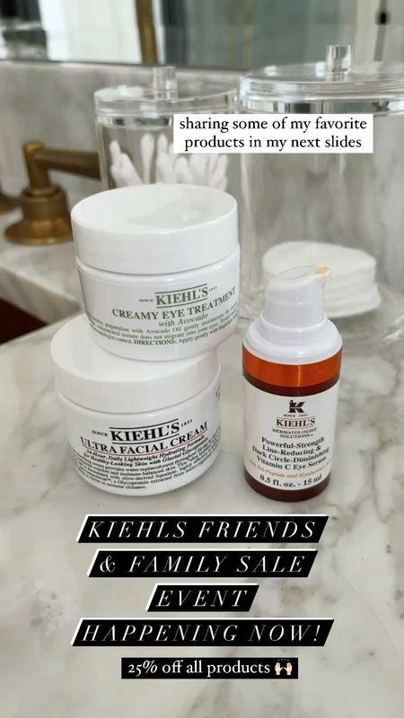Kiehls Friends and family event 20% off site wide a lot of my favorite products are links here  #LTKbeauty #LTKsalealert