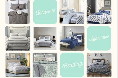 Affordable Bedding to help Make your bedroom a gorgeous sanctuary! http://liketk.it/3bg28 #liketkit @liketoknow.it #LTKSpringSale #LTKhome #LTKstyletip