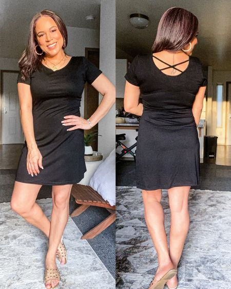 This cute little black dress is on sale for $19 (it was $30). Wearing a sz small. Click the link in my bio to shop. Happy Sunday #littleblackdress #summerdresses #casualstyle #outfit #summerstyle #amazonfinds http://liketk.it/3dfZb @liketoknow.it #liketkit