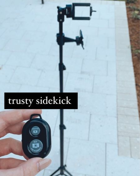 The perfect tripod. comes with a detachable ring light & bluetooth remote! http://liketk.it/30xr7 #liketkit @liketoknow.it #StayHomeWithLTK #LTKsalealert #LTKtravel Shop your screenshot of this pic with the LIKEtoKNOW.it shopping app