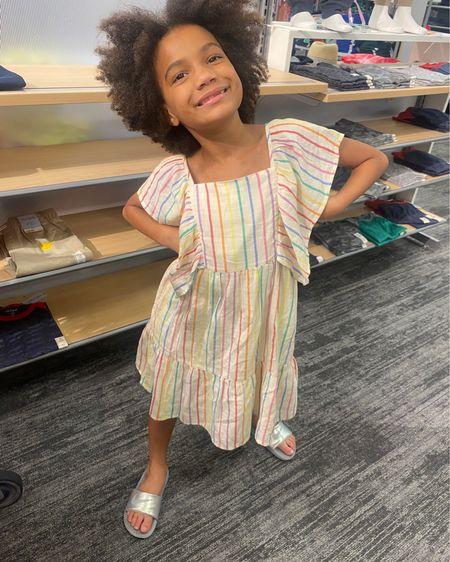 Cute summer ruffle dress for kids http://liketk.it/3h2cH #liketkit @liketoknow.it #LTKfamily #LTKkids #LTKunder100