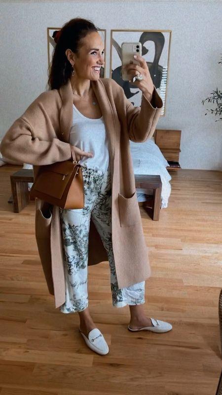 How I style pjs pants!   #LTKstyletip #LTKshoecrush