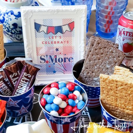 Let's celebrate S'More! Fun patriotic supplies to create a S'More bar. http://liketk.it/3iki1 @liketoknow.it #liketkit #LTKfamily @liketoknow.it.family Screenshot or 'like' this pic to shop the product details from the LIKEtoKNOW.it app, available now from the App Store!