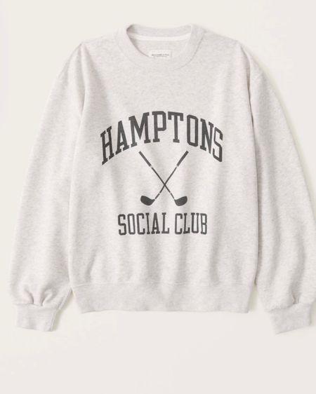 Graphic sweatshirt, Abercrombie, http://liketk.it/3i2as #liketkit @liketoknow.it #LTKunder50 #LTKstyletip