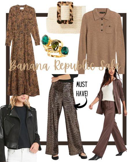Banana Republic Sale faves. Extra 40% off marked prices!  #springsale #bananarepublicsale #extra40  #LTKSeasonal #LTKstyletip