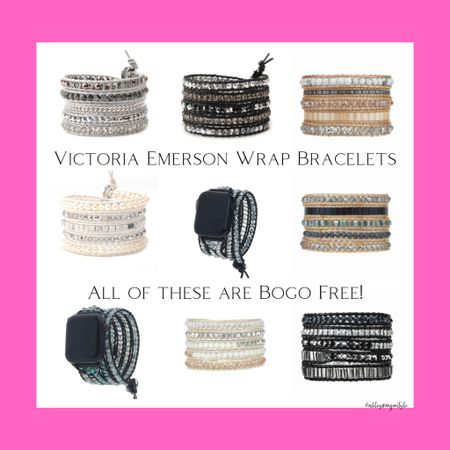 Victoria Emerson has BOGO free on everything for Black Friday! Love their wrap bracelets and their Apple Watch straps are really pretty too! These would make great stocking stuffers! They have lots of other options on their website as well. Their bracelets fit any wrist and are so pretty - can't recommend them enough! @liketoknow.it #liketkit #LTKgiftspo #LTKsalealert #LTKunder50 #victoriaemerson #wrapbracelets #giftidea #blackfridaysale #cyberweek #giftguide #affordablejewelry http://liketk.it/32rIf