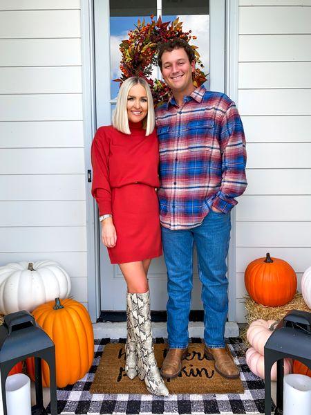 Walmart fashion, Walmart mens, family photos, family Christmas photos, Mens Free Assembly  Bo is wearing XL shirt and 36 in jeans!   #LTKmens #LTKunder50 #LTKSeasonal