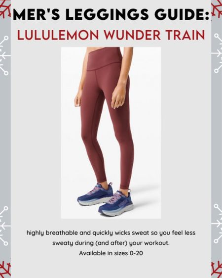 Old faithful! Not too thick, not too thin, moisture wicking and perfect for tough workouts #lululemon #leggingsguide #LTKfit #LTKgiftspo #LTKstyletip http://liketk.it/322bh #liketkit @liketoknow.it