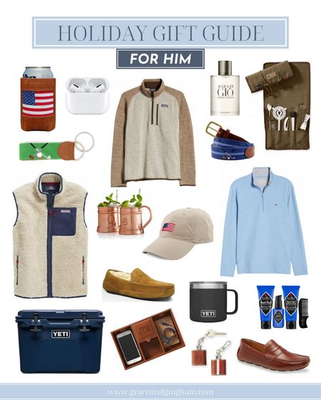 Holiday gift guide for him is live on the blog! Find the perfect gift for your brother, boyfriend, guy friend, dad, or any other special man in your life! ✨  #LTKsalealert #LTKfamily #LTKgiftspo