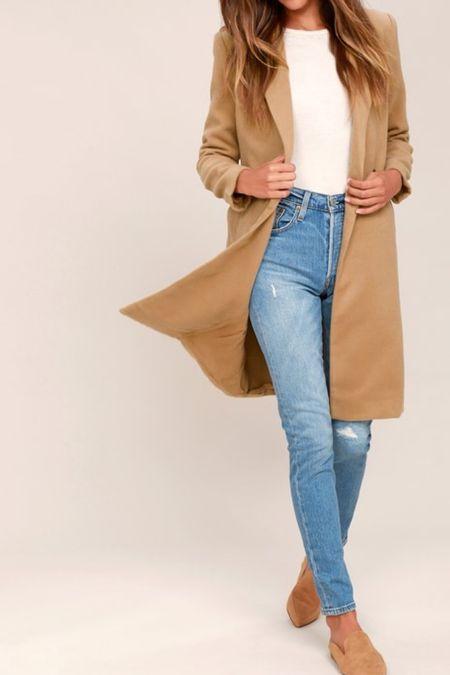Must have long chic coat!  #LTKworkwear #LTKHoliday #LTKSeasonal