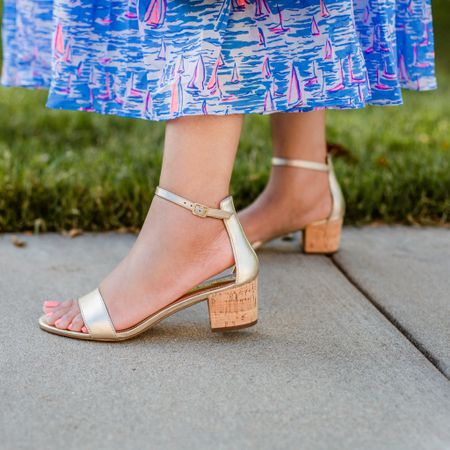 A metallic gold sandal is the perfect summer accessory!  I LOVEEEE these beauties because they're super cute and they're the perfect heel height for me. These beauties are older @lillypulitzer ; however, I'm linking to similar versions in the @liketoknow.it app. Swipe left for a super comfy metallic gold sandal from @sarahflint_nyc. Use code SARAHFLINT-BARYNETTAD for 50.00 off your first pair of Sarah Flint shoes!  I promise you won't be disappointed!!!! AND, I'm chatting about my favorite sandals on my blog today, reallyrynetta.com!  Check out the post! http://liketk.it/3gWP6 #liketkit