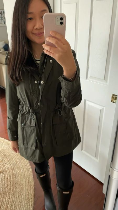 This olive jacket is currently 40% off + free shipping with the code GOBIG. Cardmembers use code CARDLOVE for an extra 20% off. I took size XXS regular.  I originally reviewed the jacket here 👉🏻 https://www.whatjesswore.com/2019/12/weekly-loft-try-ons-other-reviews.html  #LTKSeasonal #LTKGiftGuide #LTKstyletip