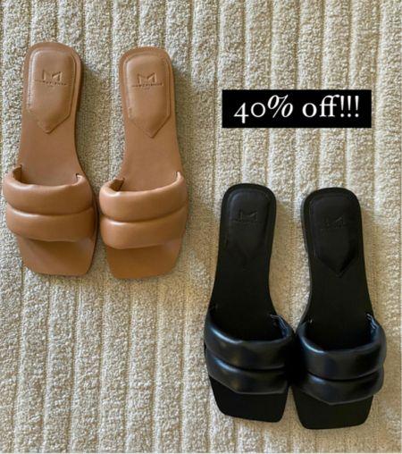 Tan sandal, black sandals   #LTKunder100 #LTKshoecrush #LTKsalealert