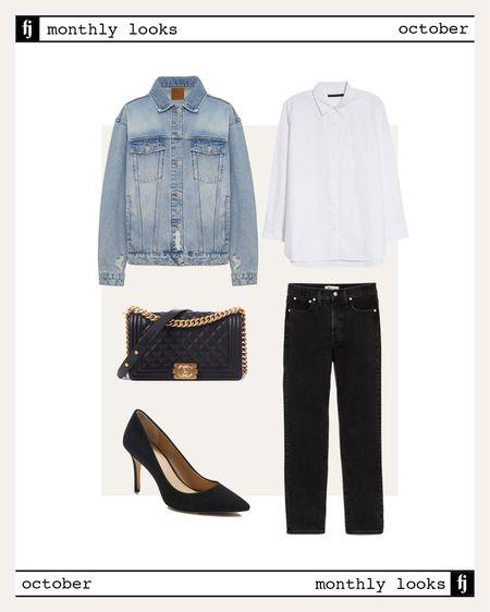 October fall outfit idea #falloutfits  #LTKunder100 #LTKstyletip #LTKworkwear