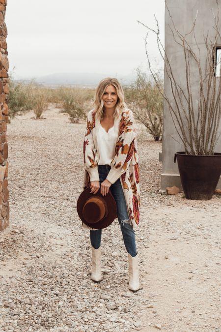 Western fall outfit 🤍  #LTKstyletip #LTKSeasonal #LTKunder100