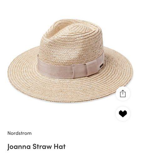 Joanna brixton straw hat on sale #nsale #nordstrom  Sun hat Wide brim hat   #LTKstyletip #LTKsalealert