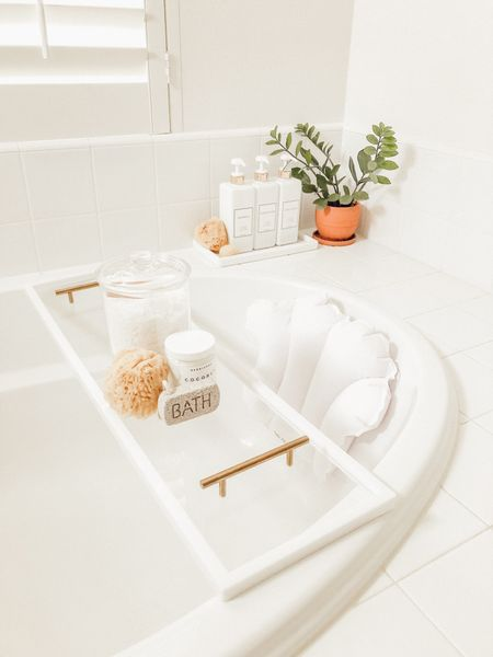 A few bathroom favorites ✨🛁  #LTKhome