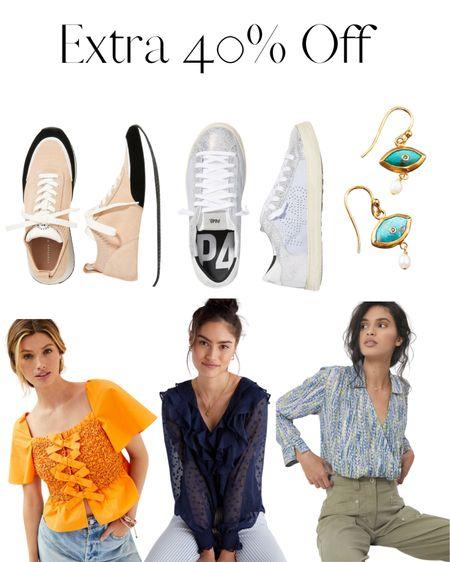 Extra 40% off Anthro Sale happening now!   #LTKsalealert #LTKworkwear #LTKunder100