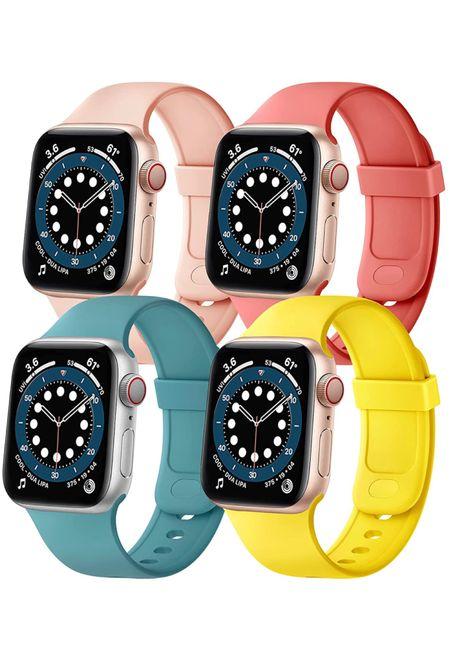 Apple Watch band, Apple Watch silicone band, Apple Watch Sport band, Apple waterproof band  #LTKfit #LTKitbag #LTKstyletip