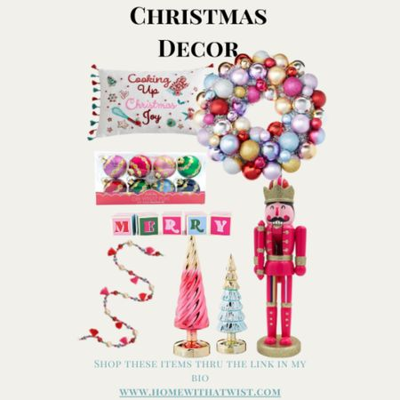 Christmas Decor from Walmart. Can you believe it? I love the pink and whimsical tones. Christmas is just around the corner!   #LTKSeasonal #LTKGiftGuide #LTKHoliday