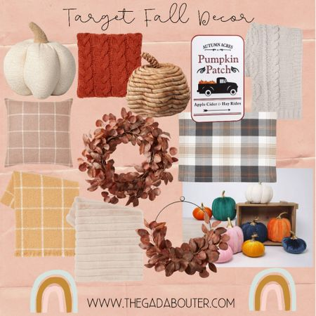 Sooooo excited for fall! Found some cute stuff at Target. So excited to decorate this weekend! 🧡🧡    #LTKfamily #LTKunder100 #LTKhome
