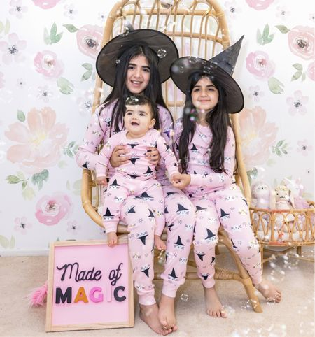 Can you believe that it is October 1s 2021?! I love this season… and my girls… they are made of magic. 💖 Tell me one favorite thing you love about October? While I have a long list… my favorite is Diyanah's birthday. Next on the list is all things spooky !! #halloweenkids #halloweenpajamas   #LTKHoliday #LTKbaby #LTKfamily