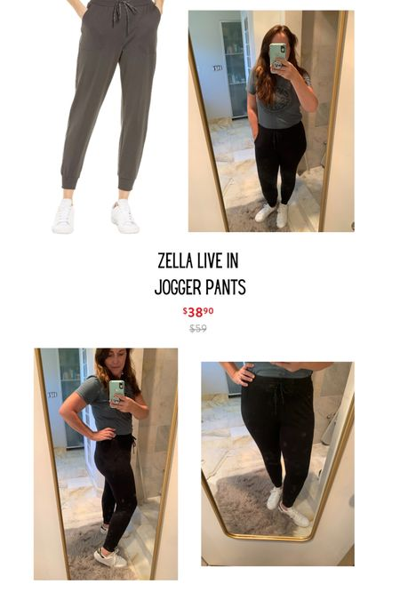 http://liketk.it/3jYBE #liketkit @liketoknow.it Shop my daily looks by following me on the LIKEtoKNOW.it shopping app. Favorite Zella joggers from the #nsale My uniform for camp pick up today! So happy to have the Els back!