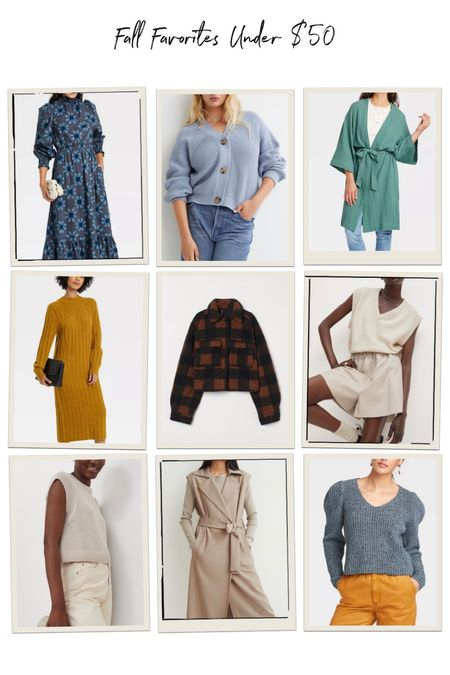 Fall favorites under $50   #LTKstyletip #LTKunder50 #LTKsalealert