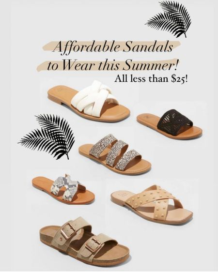 Repost on these sandals because you guys LOVED these last week! All under $25 and SO PRETTY! #LTKshoecrush #LTKunder50 #LTKtravel http://liketk.it/3fxXd #liketkit @liketoknow.it