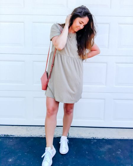 Oversized T-shirt dress win! $20 from Target and paired with my favorite white sneakers #LTKshoecrush #LTKstyletip #LTKspring ! http://liketk.it/2PO7H #liketkit @liketoknow.it