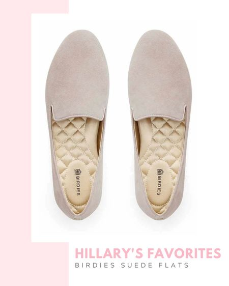 Hillary's favorites: Birdies starling slate suede flats, women's flat, suede, no-slip rubber sole for inside/outside wear, 10 mm heel, comfy shoes, slippers, fall / winter, casual outfit, workwear, for work, office outfit, lounge, gift idea, gift guide, on sale, printed shoes, leopard, floral print,   #LTKshoecrush #LTKsalealert #LTKSeasonal